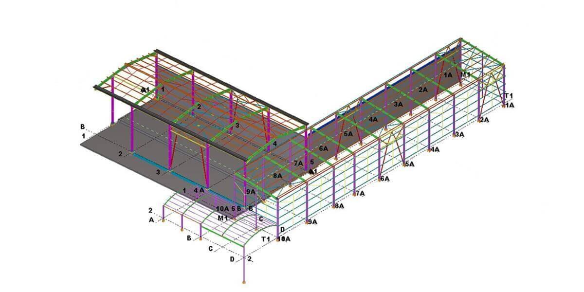 çelik yapı projelendirme 4