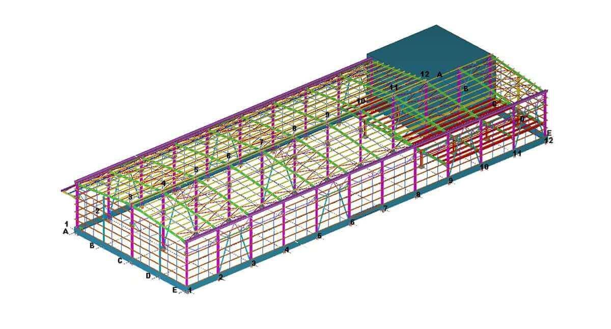 çelik yapı projelendirme 2