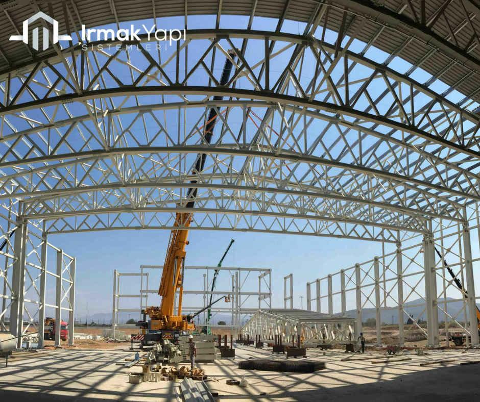 çelik konstrükiyon yapılar